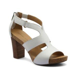 Adrienne Vittadini Saha City Sandals Women's Shoes  - White