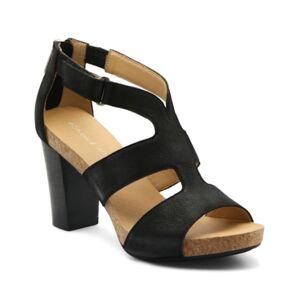 Adrienne Vittadini Saha City Sandals Women's Shoes  - Black