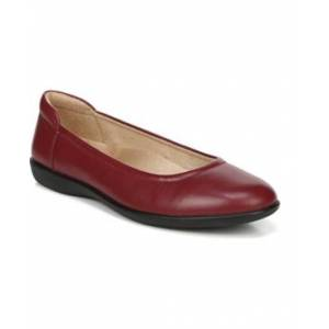 Naturalizer Flexy Slip-on Flats Women's Shoes  - Red