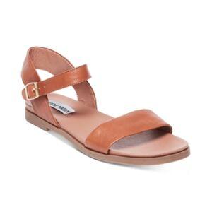 Steve Madden Dina Flat Sandals  - Tan