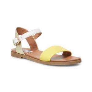 Steve Madden Dina Flat Sandals  - Yellow Multi