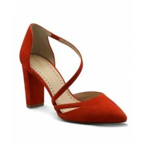 Adrienne Vittadini Women's Nath D'Orsay Pumps Women's Shoes  - Red