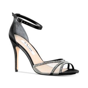 Nina Calissa Evening Sandals Women's Shoes  - Black