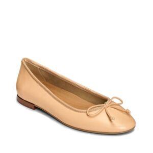 Aerosoles Women's Homerun Ballet Flat Sandal Women's Shoes  - Nude Leather