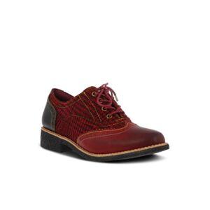 L'Artiste Women's Muggiasti Oxfords Women's Shoes  - Red