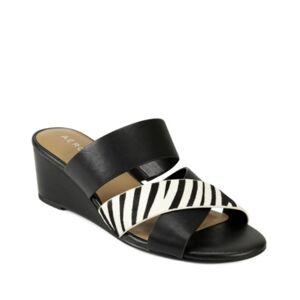 Aerosoles Westfield Wedge Sandal Women's Shoes  - Zebra