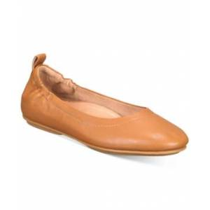 FitFlop Women's Allegro Leather Ballerinas Flats Women's Shoes  - Hazelnut Brown
