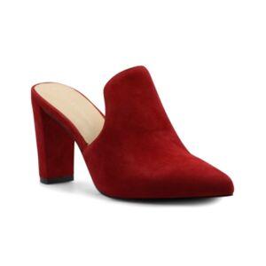 Adrienne Vittadini Women's Nella Heeled Mules Women's Shoes  - Scarlet