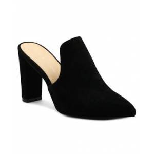 Adrienne Vittadini Women's Nella Heeled Mules Women's Shoes  - Black