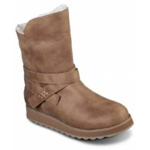 Skechers Women's Keepsakes 2.0 - Pikes Peak Plush Boots from Finish Line  - Taupe