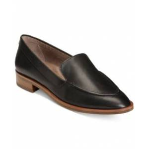 Aerosoles East Side Loafers Women's Shoes  - Black Leather