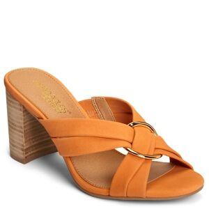 Aerosoles High Water Dress Sandals Women's Shoes  - Orange Nubuck