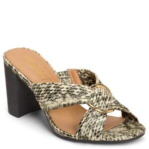 Aerosoles High Water Dress Sandals Women's Shoes  - Bone Snake
