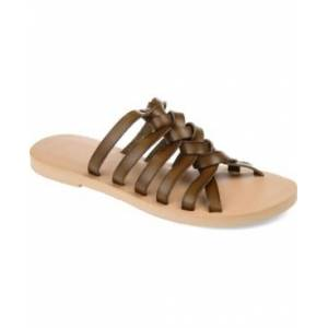 Journee Collection Women's Waverly Sandals Women's Shoes  - Olive