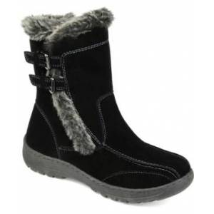 Journee Collection Women's Takani Winter Boot Women's Shoes  - Black