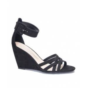 Chinese Laundry Clarissa Wedge Dress Sandals Women's Shoes  - Black