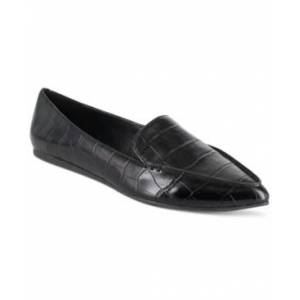 Esprit Blair Loafer Flats Women's Shoes  - Black Croco