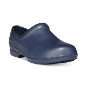 Easy Street Easy Works by Easy Street Kris Clogs Women's Shoes  - Navy