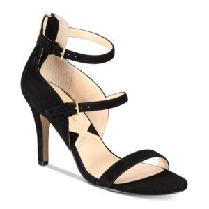Adrienne Vittadini Georgino Dress Sandals Women's Shoes  - Black
