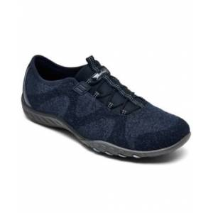 Skechers Women's Breathe Easy Opportuknity Casual Sneakers from Finish Line  - NAVY
