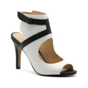 Adrienne Vittadini Women's Glorene Ankle Cuff Pumps Women's Shoes  - White