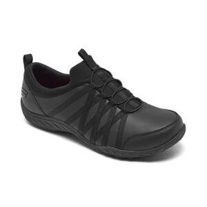Skechers Women's Work: Rodessa - Dowding Slip-Resistant Slip-on Work Sneakers from Finish Line  - Black