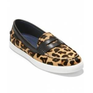 Cole Haan Womens Nantucket Loafers  - Mod Leopard Printed Ocelot