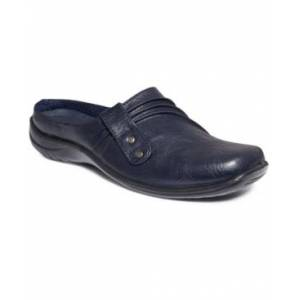Easy Street Holly Comfort Mules Women's Shoes  - Navy