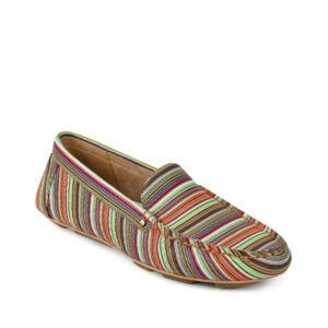 Aerosoles Bleeker Slip on Loafer Women's Shoes  - Multi Stripe