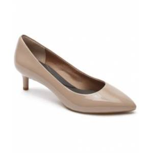 Rockport Women's Total Motion Kalila Pumps Women's Shoes  - Dark Taupe
