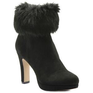 Adrienne Vittadini Peeve Booties Women's Shoes  - Black