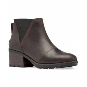 Sorel Women's Cate Chelsea Booties Women's Shoes  - Blackened Brown