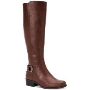 Alfani Women's Step 'N Flex Kallumm Boots, Created for Macy's Women's Shoes  - Cognac Smooth