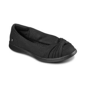 Skechers Women's On The Go Dreamy Skimmer Flat Slip-on Casual Walking Sneakers from Finish Line  - Black