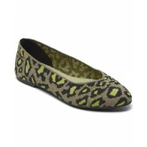 Skechers Women's Cleo - Leopard Casual Ballet Flats from Finish Line  - Taupe