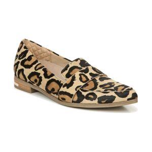 Dr. Scholl's Women's Faxon Slip-ons Women's Shoes  - Tan Leopard