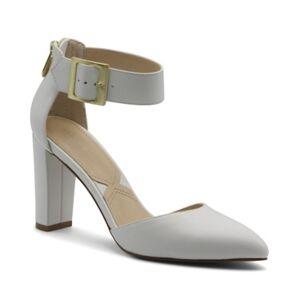 Adrienne Vittadini Women's Nerice 2-Piece Pumps Women's Shoes  - White