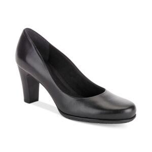 Rockport Women's Total Motion Round-Toe Pumps Women's Shoes  - Black