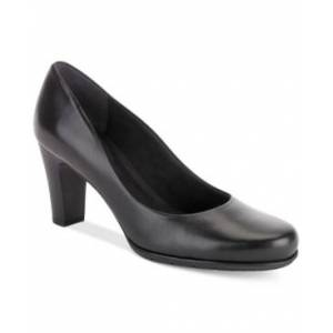 Rockport Women's Total Motion Round-Toe Pumps Women's Shoes  - Black