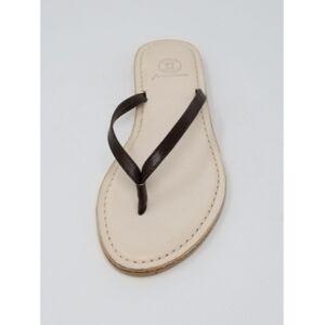 N.y.l.a Premium Carmel Thong Sandal Women's Shoes  - Khaki