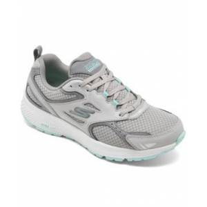 Skechers Women's Gorun Consistent Running Sneakers from Finish Line  - Gray, Turquoise
