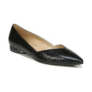 Naturalizer Havana Flats Women's Shoes  - Black Snake