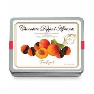Torn Ranch Chocolate-Dipped Glaceed Apricots