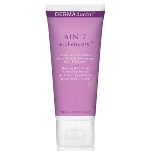 DERMAdoctor Ain't Misbehavin' Intensive 10% Sulfur Acne Mask & Emergency Spot Treatment, 2.3-oz.  - No Color
