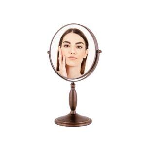 Ovente Tabletop Makeup Vanity Mirror  - Bronze