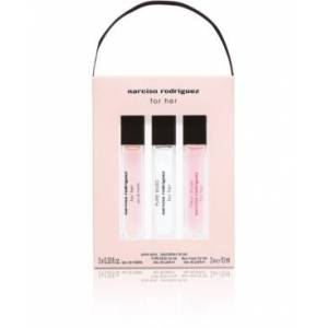 Rodriguez Narciso Rodriguez 3-Pc. For Her Travel Spray Gift Set, Created for Macy's