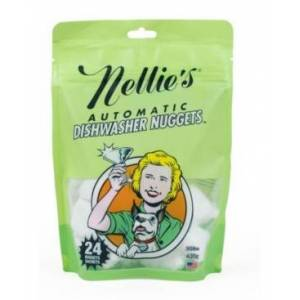 Nellie's Dishwasher Nuggets, 24 Nuggets Sachets  - Green