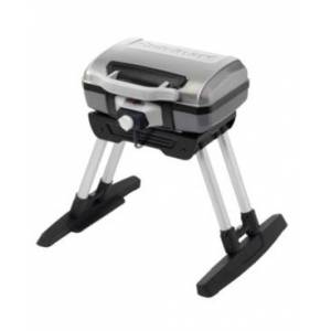 Cuisinart Outdoor Electric Grill with Versa Stand  - Gray