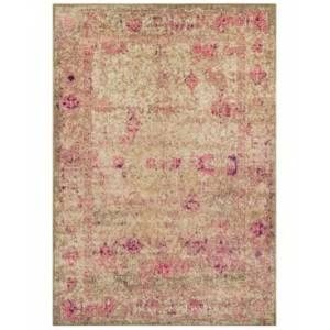 """Dalyn Closeout! Dalyn Sultan Mani Charcoal 7'10"""" x 10'7"""" Area Rug  - Pink"""