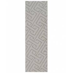 "Surya Mystique M-5455 Light Gray 2'6"" x 8' Runner Area Rug  - Light Gray"